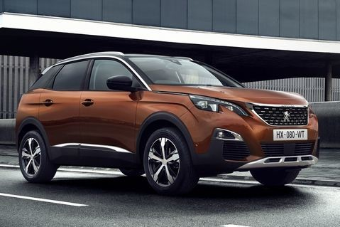 Peugeot 3008 Blue Lease Executive